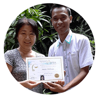 Balinese Massage student from Japan