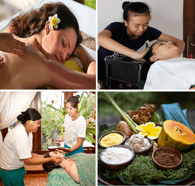 This 4-week Traditional Balinese Spa Therapy at  Bali BISA in Sanur, Bali covers Balinese massage, natural facials, Indonesian hair cream baths, body scrubs and body wraps.