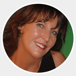 Portrait of Penny Ellis, President / Director of Bali International Spa Academy in Sanur, Bali