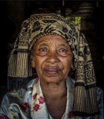Balinese Old Lady
