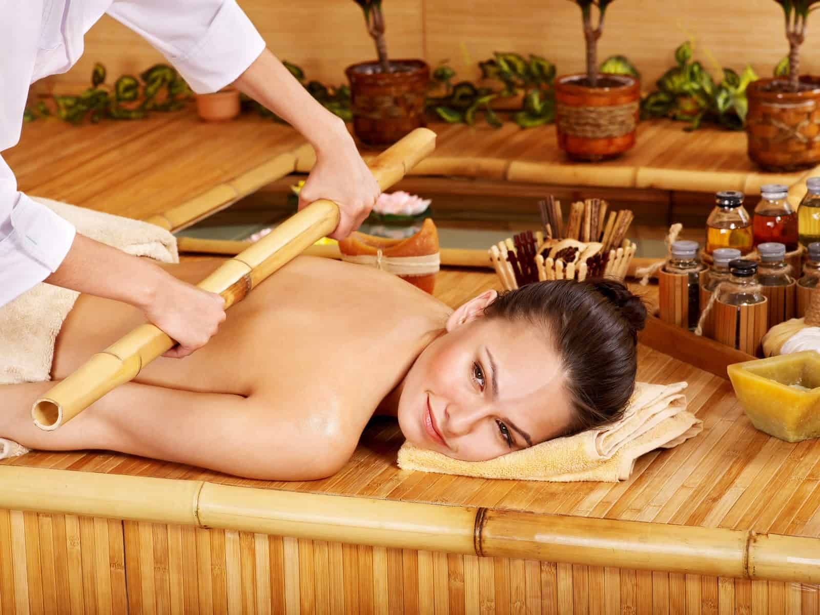 hot bamboo massage