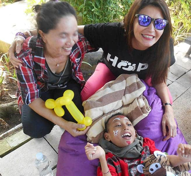 Tamara is an Ambassador to Soleman, a caring Bali NGO helping the most disadvantages in Bali