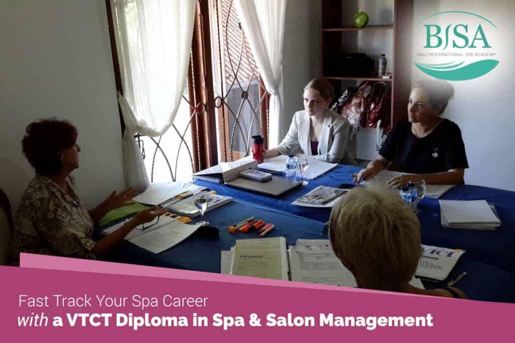 Spa Career - Fast Track VTCT Diploma Management 2
